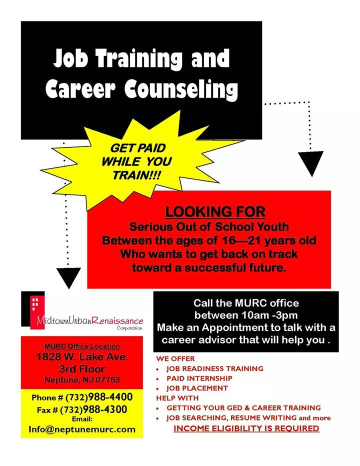 Job Training and Career Counseling